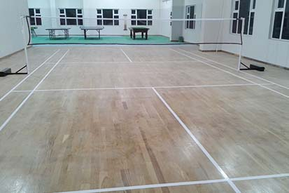 Complete Badminton Court
