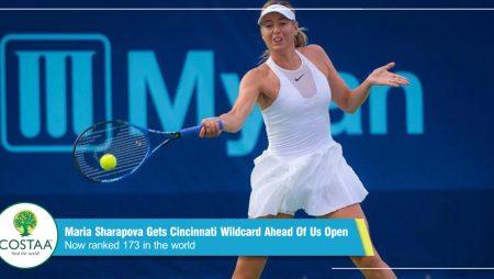 Maria Sharapova gets Cincinnati wildcard ahead of US Open