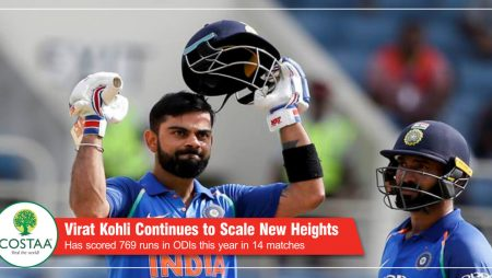 Champion chaser Virat Kohli continues to scale new heights in 2017