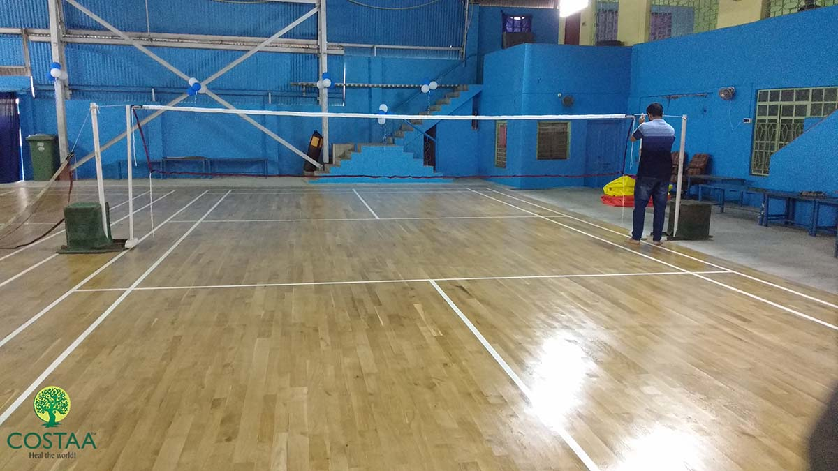 project on badminton game